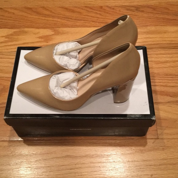 6a4f5970360 Nine West Women's ANISA9X Synthetic Pump New!